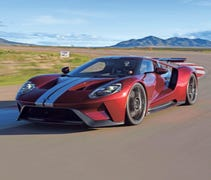 The $450K, LeMans-inspired Ford GT lives up to the...