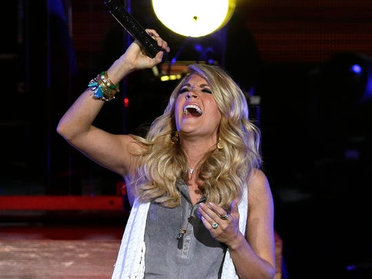 """Carrie Underwood will bring her """"Cry Pretty"""" tour to Fiserv Forum June 20."""