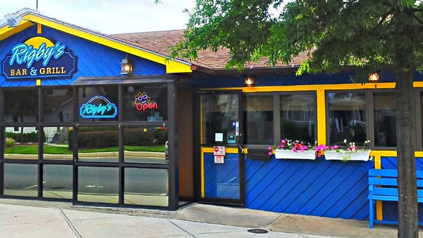 Rigby's Bar & Grill, located on Rehoboth Avenue in downtown Rehoboth Beach, offers daily happy hour specials from 4 to 8 p.m.