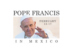 Pope Francis will tour Mexico in early 2016.