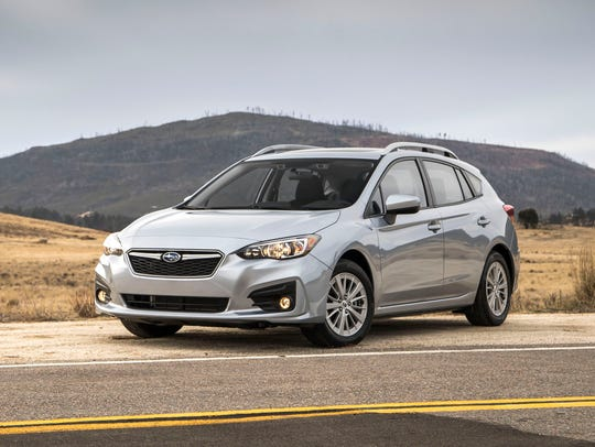 Second place: 2018 Subaru Impreza