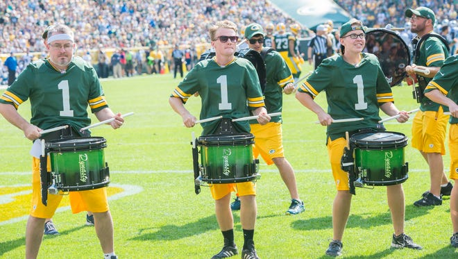The Tundra Line is celebrating its 10th anniversary this season. The 25-member drumline is made up of musicians from across the state and is a favorite with Green Bay Packer fans at Lambeau Field on game days.