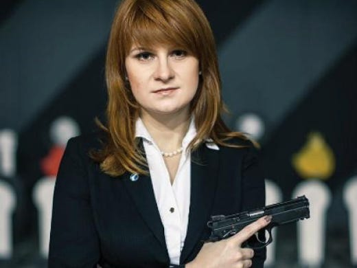 Maria Butina? Accused Russian spy allegedly offered sex for power