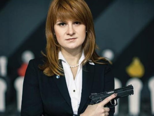 EPA RUSSIA USA ESPIONAGE BUTINA POL ESPIONAGE & INTELLIGENCE RUS