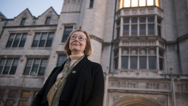 President Elizabeth Burns and Marygrove College feared foreclosure a little more than a year ago. A multimillion-dollar rescue is now underway.