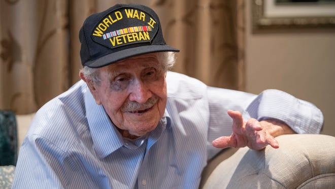 Phillip Andrade recalls his time as a prisoner of war in World War II. Andrade will be celebrating his 100th birthday on Wednesday.