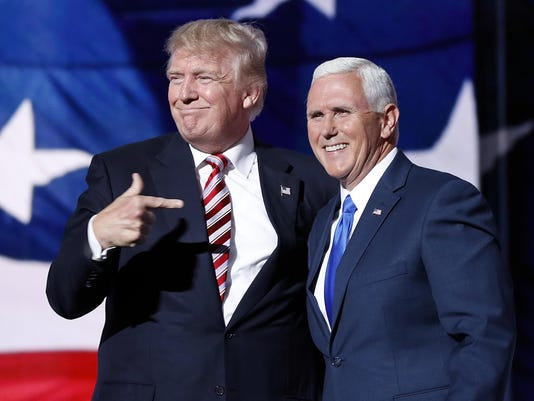 Mike Pence,Donald Trump