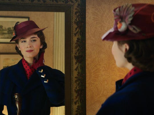 This image released by Disney shows Emily Blunt as