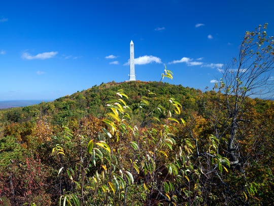 The High Point Monument at High Point State Park in