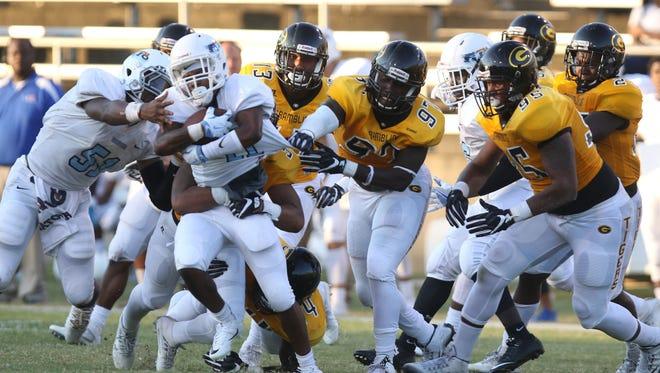 Grambling hosts the Virginia University of Lynchburg as it kicks off football season on Saturday, September 3, 2016.