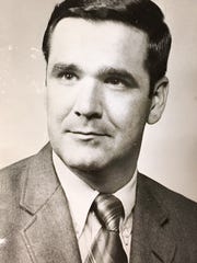 Headshot of Matthew J. Crehan, from 1972. Crehan represented Robert Young in both the criminal and civil trials.