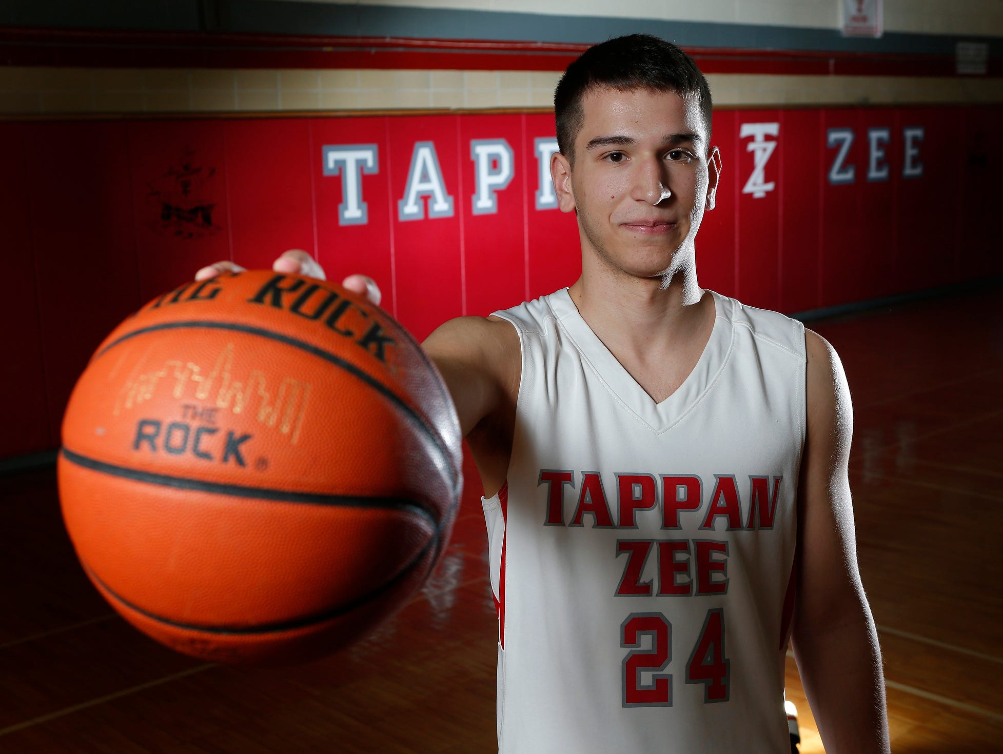 Tappan Zee senior Robert McWilliams is the Rockland County Boys Basketball Player of the Year.