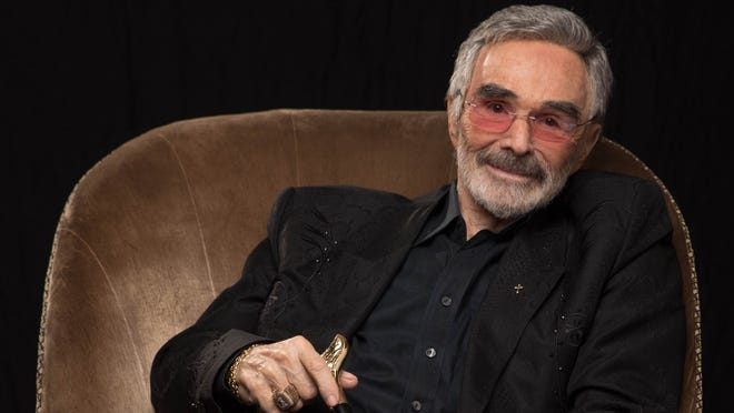 "Burt Reynolds poses for a portrait earlier in 2018 to promote his film ""The Last Movie Star."""
