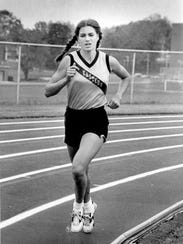 Donna McLain Vitacco won six PIAA track and field gold