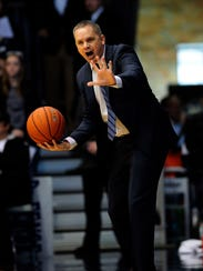 Butler coach Chris Holtmann took over for the Bulldogs