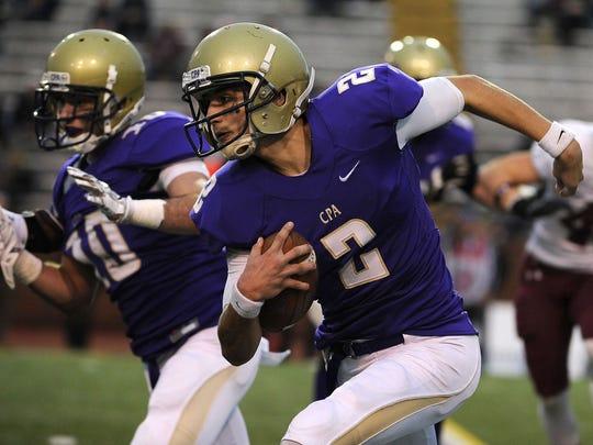 CPA quarterback Zack Weatherly.