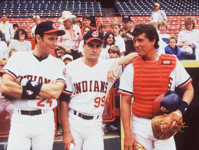 Corbin Bernsen (from left), Charlie Sheen and Tom Berenger