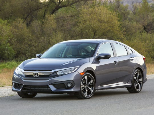 Honda continues to show strong sales for its Civic,