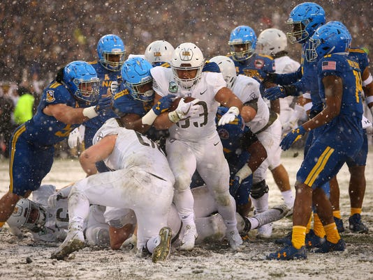 NCAA Football: Army at Navy