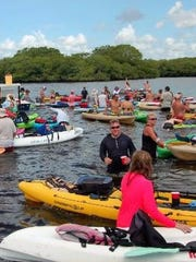 The Endless Summer Paddle & Sandbar Party annual event is Saturday.