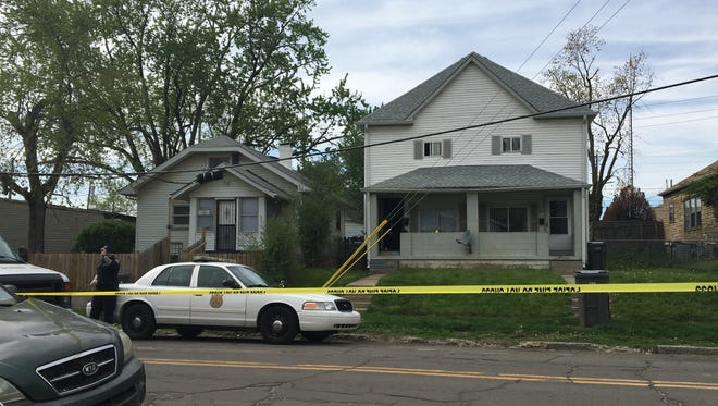 Indianapolis police are investigating after a man was found fatally shot inside a residence in the 2800 block of Brookside Avenue on April 17, 2017.