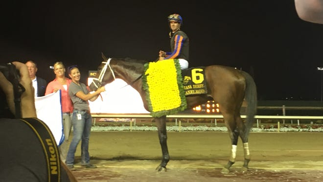 Axelrod won the Indiana Derby and beat out favorite King Zachary