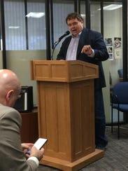 Sen. Llew Jones, R-Conrad, the sponsor of the tax credit bill, said the department's rules don't follow the intent of the legislation.