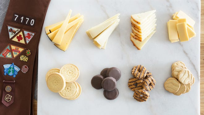 Girl Scout cookies and cheese pairing suggestions from Roth Cheese.