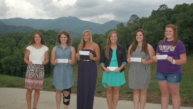 The Shawn Blanton Memorial scholarships were awarded to WNC softball players on Saturday.