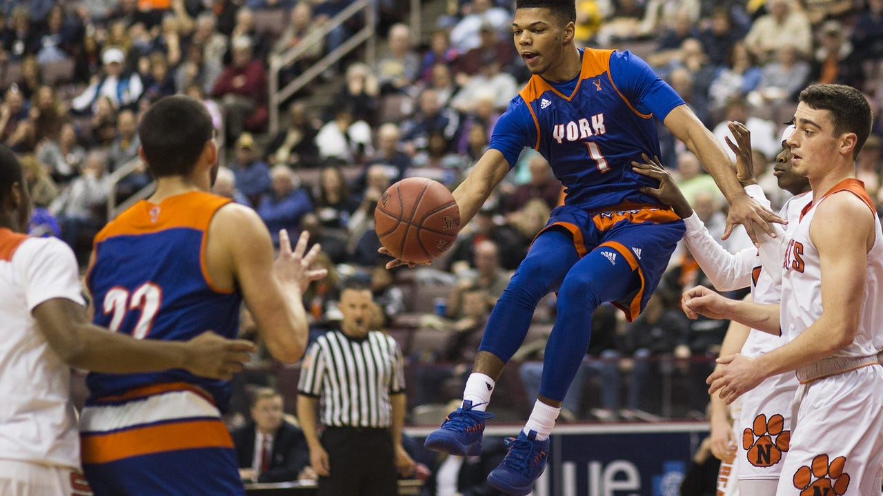 With 11 seconds remaining in the fourth quarter of the District 3 Class 5A semifinals, York High's Kyree Generett hit a game-tying 3-pointer in an eventual 84-80 win over Northeastern.