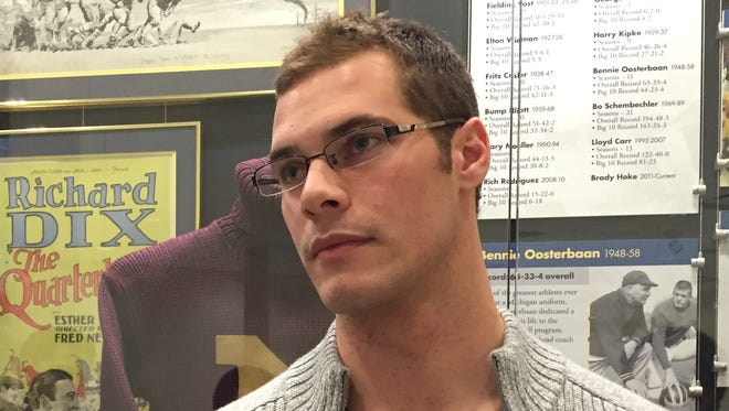 Michigan punter Will Hagerup
