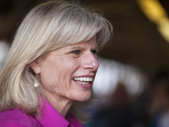 Wisconsin Democratic gubernatorial candidate Mary Burke