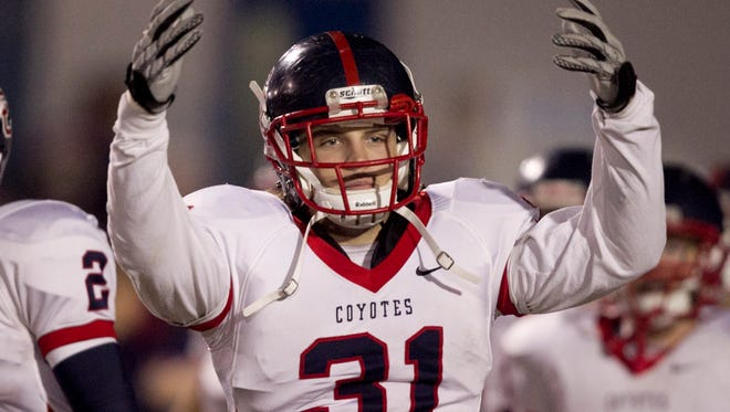 Is Zach Hoffpauir the greatest football player in Peoria Centennial High history?