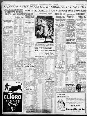 A page in The News on June 12, 1927.