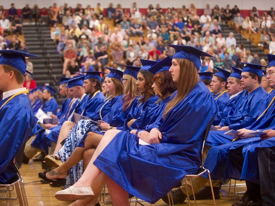 Moraine Park Technical College held their 2015 graduation