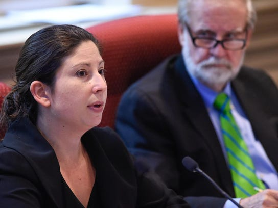 Rep. Melanie George Smith, D-Bear, is the co-chair of the Joint Finance Committee, a 12-member panel that soon will begin crafting the state budget.