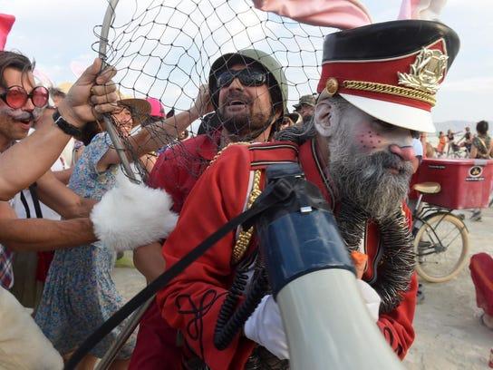 Burning Man Thrusday