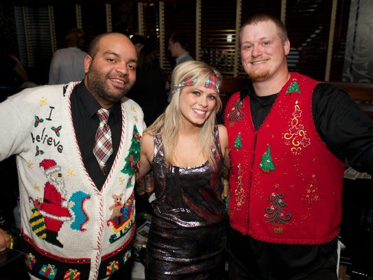 Ugly sweater party.