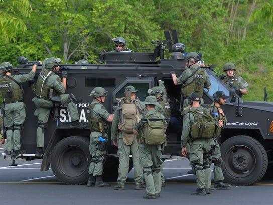 Nashville police avoided the military surplus wait