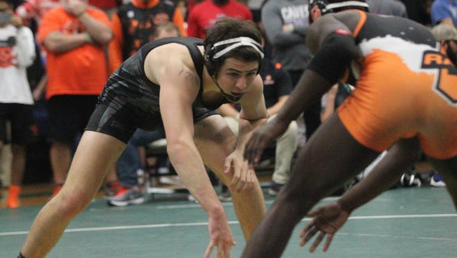 Chiles senior Gavin Hoard came up short of a finals win in the 170-pound weight class of Saturday's Trojan Invitational at Lincoln, falling 1-0 to Oak Park's Nartorian Lee.
