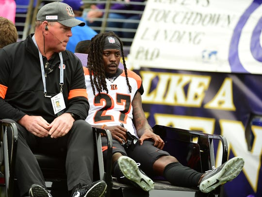 Bengals corners Dre Kirkpatrick, William Jackson III to miss game action