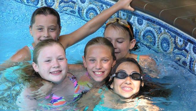 Swimming fun at Summer Play Camp.