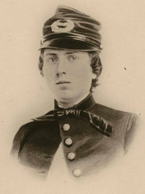This undated photo provided by the Wisconsin Historical Society shows First Lt. Alonzo H. Cushing. A Civil War soldier is to be honored with the nation's highest military decoration 151 years after his death.The White House announced Wednesday that President Barack Obama will give the Medal of Honor to Alonzo H. Cushing. His descendants and Civil War buffs have been pushing for the Union Army lieutenant killed at Gettysburg, Pennsylvania to receive the award. (AP Photo/Wisconsin Historical Society)