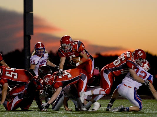 Johnstown 45, Licking Valley 21