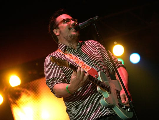 John Flansburgh of They Might Be Giants performs at