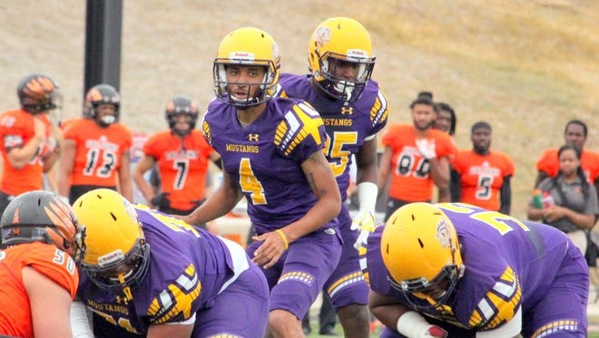 Western New Mexico University quarterback Javia Hall will return to the lineup after missing last week.