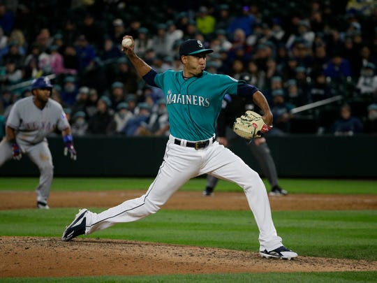 Edwin Diaz will not close games for the Mariners until he gets his mechanics straightened out.
