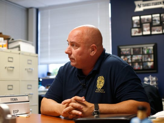 Springfield School Police Department Director Jim Farrell