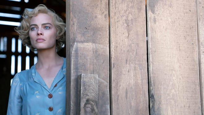 "Margot Robbie in a scene from ""Dreamland."""