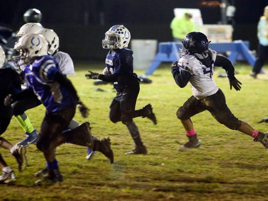 Youth football players from the MOT Youth Football organization were denied playing in a second regional tournament this weekend in Middletown because unruly fans forced the cancellation of this weekend's elite tournament.